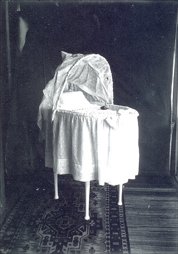 empty bassinet